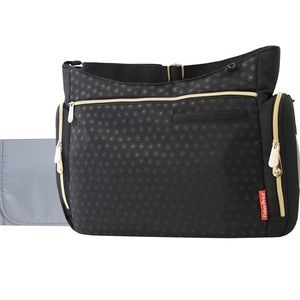 Black Fischer price diaper bag